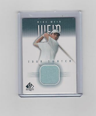 2001 Mike Weir     Sp Authentic Tour Swatch