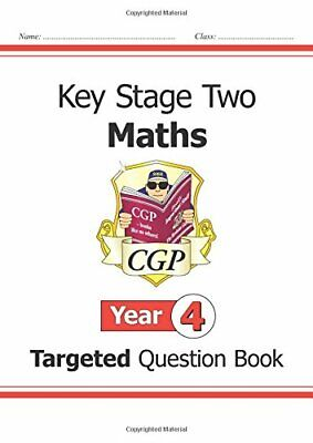 KS2 Maths Targeted Question Book - Year 4 (CGP KS2 Ma... by Books, Cgp Paperback