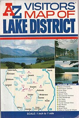 A-Z Visitors' Lake District Map (Ro... by Geographers' A-Z Map Sheet map, folded