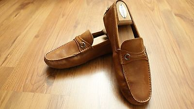 Tod's Men's Driving Loafers Brown Size 6.5 Made in Italy