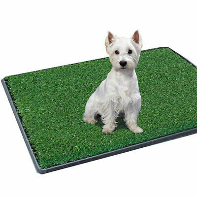 Potty Patch Dog Pet Toilet Training Small Dogs/Puppy Indoor Grass Mat 51 x 64cm