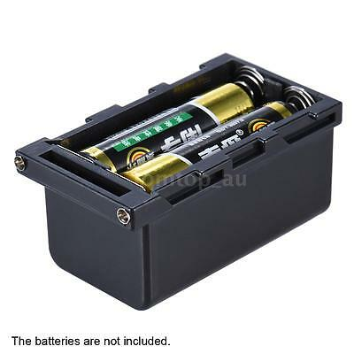 4AA Battery Holder Power Pack Case as NP-F750 LED Video Light Panel Monitor Z4W7