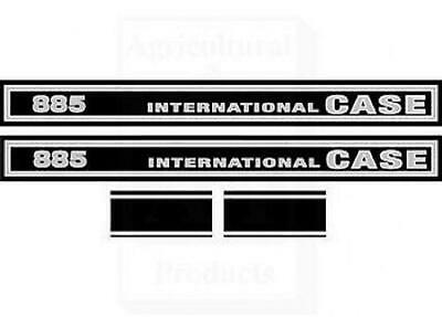 International CaseIH Tractor 885 Hood Decal Set