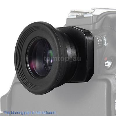 Eyepiece Eyecup Viewfinder Loupe 1.51X Magnification for Canon Nikon Camera C3W3