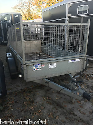 Used Ifor Williams GD105 Mesh Sides Twin Axle Trailer