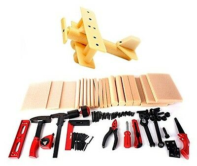 Diy Deluxe Wood Workshop Kit For Kids With Many Tools Imports Toy Yourself Build