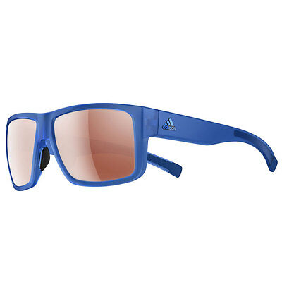 Adidas Eyewear Matic Sunglasses - Blue Transparent Matt (Active Silver Lenses)