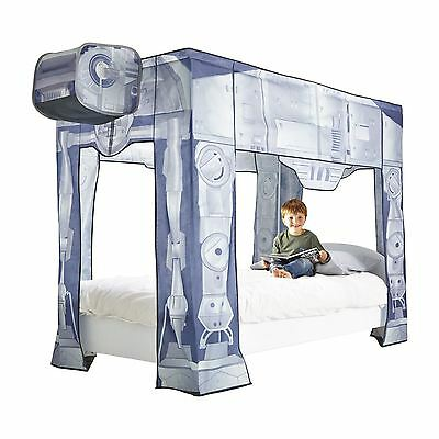 Star Wars At-At Single Bed Canopy Empire Strikes Back . Used 1 Week Mint Cond