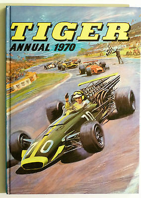 Vintage TIGER Annual 1970: IPC Magazines, Roy of the Rovers, The Suicide Six.Etc