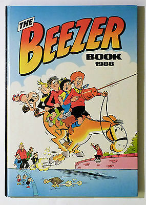 THE BEEZER BOOK: 1988, Unclipped, Spotless Copy, See Pictures