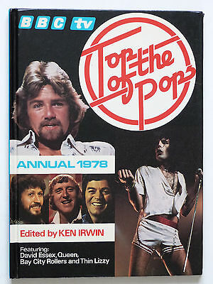 TOP OF THE POPS ANNUAL 1978: Queen, Bay City Rollers, Thin Lizzy..Etc.