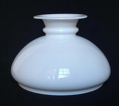 Antique Opaline Glass Oil Lamp Shade