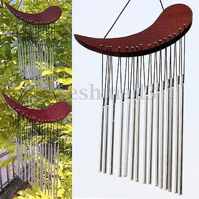 Wind Chime WOOD Metal Chimes Healing Sound Garden Outdoor Living Yard Decor New