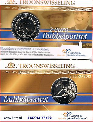 Nederland - Coincard 2 € 2013 Bu - Troonswisseling