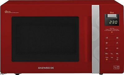 Daewoo KOR6A0RR Microwave Red