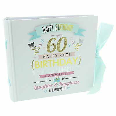 Signography Ladies 60th Birthday Photo Album - Lovely 60th Birthday Photo Album