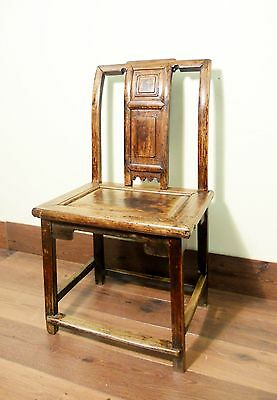 Antique Chinese Ming Chairs (5443), Zelkova Wood, Circa 1800-1949