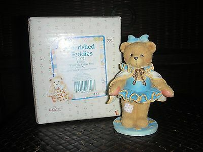 """Cherished Teddies 'claudia' """"you Take Center Ring With Me"""" - New -"""