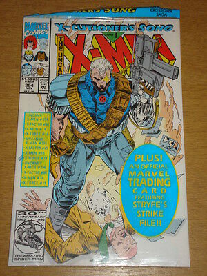 X-Men Uncanny #294 Marvel Comic X-Cutioners Song Part1 November 1992