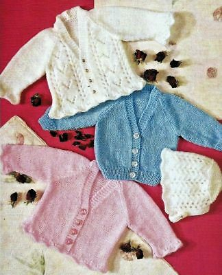 d17329cc0ae9 BABY DOUBLE KNITTING Pattern Sweaters   Cardigans Peter Gregory DK ...