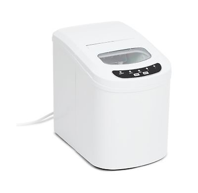 Kenley Electric Ice Cube Maker Machine White