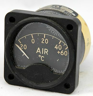 OAT gauge reading -20 to +60 degrees for RAF aircraft (GD9)