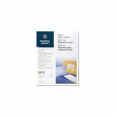 BSN26113 - Business Source Mailing Laser Label