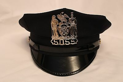 Obsolete Nypd New York Police Department Officers Hat / Cap