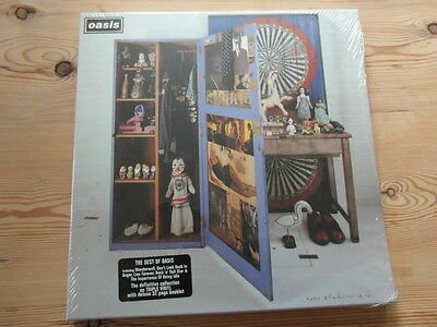 OASIS - STOP THE CLOCKS - SEALED 2006 ISSUE-TRIPLE VINYL-BOOKLET-Nr MINT
