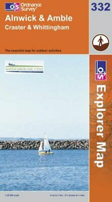 Alnwick and Amble (Explorer Maps) (OS Ex... by Ordnance Survey Sheet map, folded
