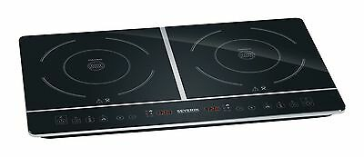 Severin DK 1031 Table Top Double Induction Hob 3400 W Black