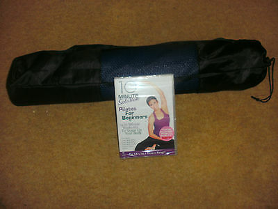 Pilates New Dvd And Pilates Mat In Bag