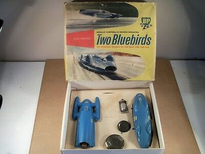 Jetex / Sebel Donald Campbell's Two Bluebirds Record Car And Boat Set (Boxed)