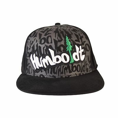 0590deafda2 Flat Bill Reppin Custom Otto Hat Humboldt Clothing Fitted Stretch Fitted  Skate