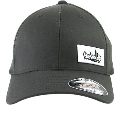 eb4c3a4e14f Curved Bill PVC Treelogo Label Flex Hat Humboldt Clothing Fitted Stretch Cap