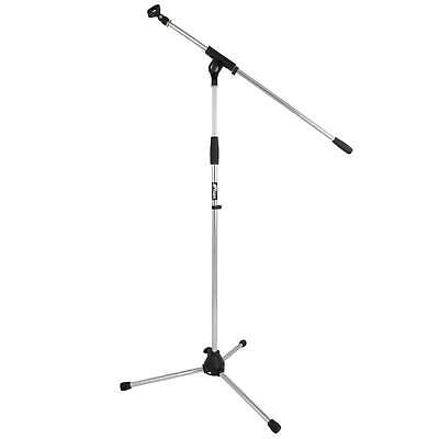 Quality Boom Microphone Stand Chrome and FREE Clip