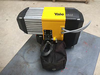 yale 250kg / 500kg electric hoist 2 speed lifting model cpvf 2-8 cpvf 5-4 415v