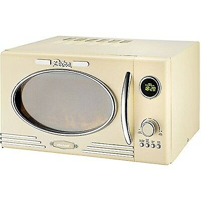 Efbe-Schott Retro Powerful Digital Microwave Oven and Grill function 25 Litre