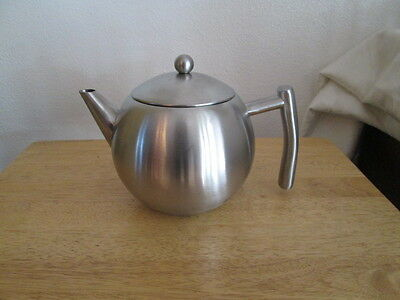 VonShef 1.5 qt. Stainless Steel Tea Pot with Infuser
