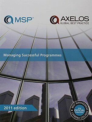 Managing Successful Programmes by The Stationery Office New Paperback Book