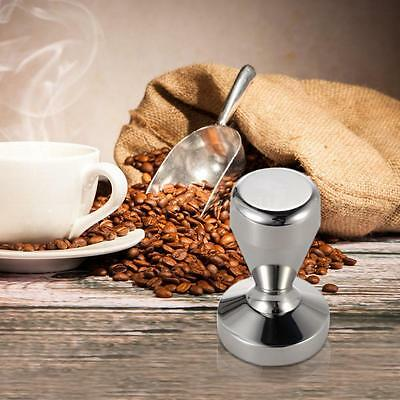 Stainless Steel Coffee Tamper Barista Espresso Tamper Coffee Accessory Tool E9Z9