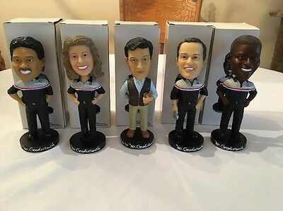 Mr. Goodwrench Bobble Heads Full Set With Boxes Including Stephen Colbert