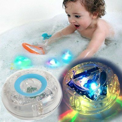 Bathroom LED Light Toys Perfect With Organizer Educational Bath Letters Funny