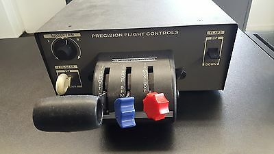 Flight Simulator throttle quadrant for both singles and multi engine