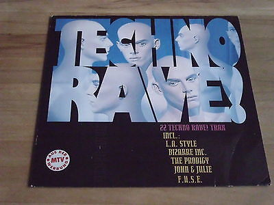 2 Lp   Various Artists  -  Techno Rave    Hype Records