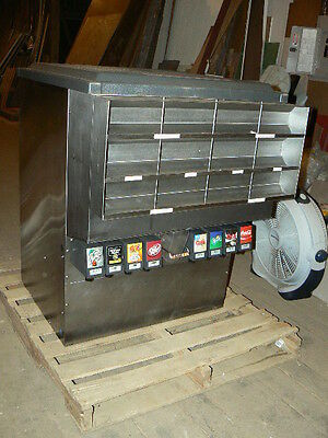 Cornelius Remcor DB275S-BZ Soda Fountain Dispenser 8 Head with 275 Pound Ice Bin