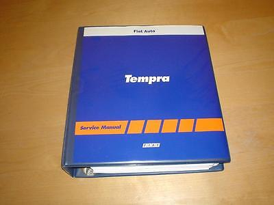 FIAT TEMPRA S SX SLX STILE TURBO Owners Workshop Manual Repair Service Handbook
