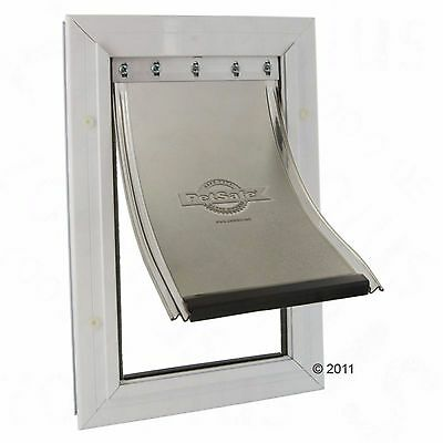 Petsafe Staywell Lockable Dogs Flap Aluminium Locking Dog Flaps Large Breed Dog