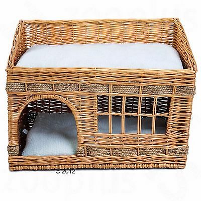 Pueblo Cat Den Cave Pet Cats House Pets Dog Home Igloo Bed Cabin Kitten Basket