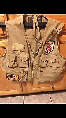 Vintage LM Dickson Fly Fishing Vest